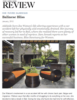 The Adelaide Review: Balinese Bliss