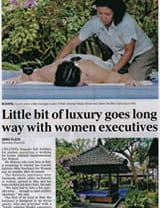 Adelaide Advertiser: A little bit of luxury goes a long way with women executives