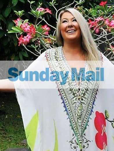 Adelaide Sunday Mail featuring Zoe Watson, Bliss Bali Retreat