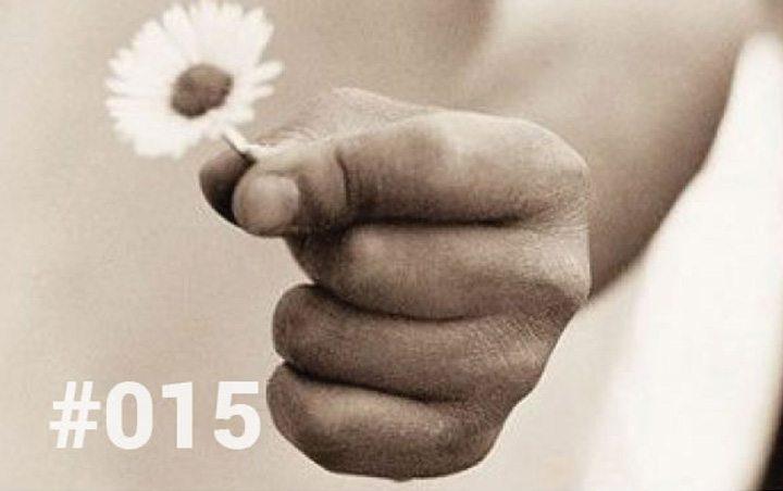 Bliss Sanctuary Bali - Blog 15 - Mistaking kindness for weakness - Child hand holding flower