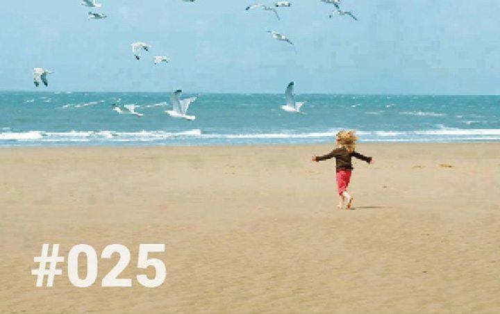 Bliss Sanctuary Bali - Blog 25 - Wobbly Legs - kid running for joy on the beach