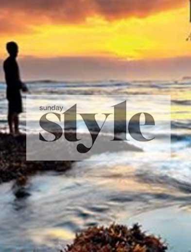 Sunday Style Newspaper Bliss retreat Bali