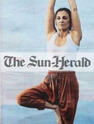The Sun Herald Newspaper Bliss retreat Bali