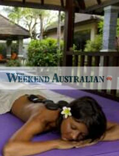 The Weekend Australian Newspaper Bliss retreat Bali