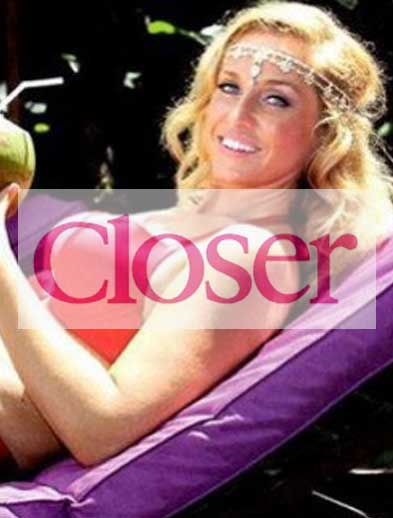 Closer Magazine Josie Gibson at Bliss Bali retreat
