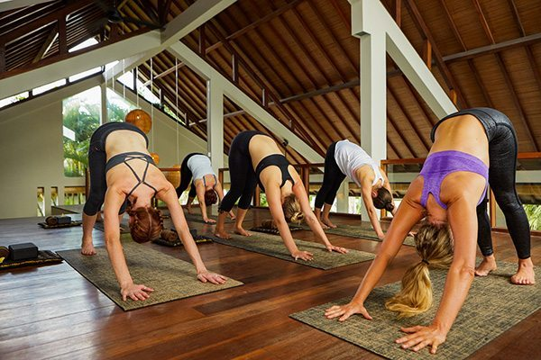 bali yoga retreat yoga on the beach