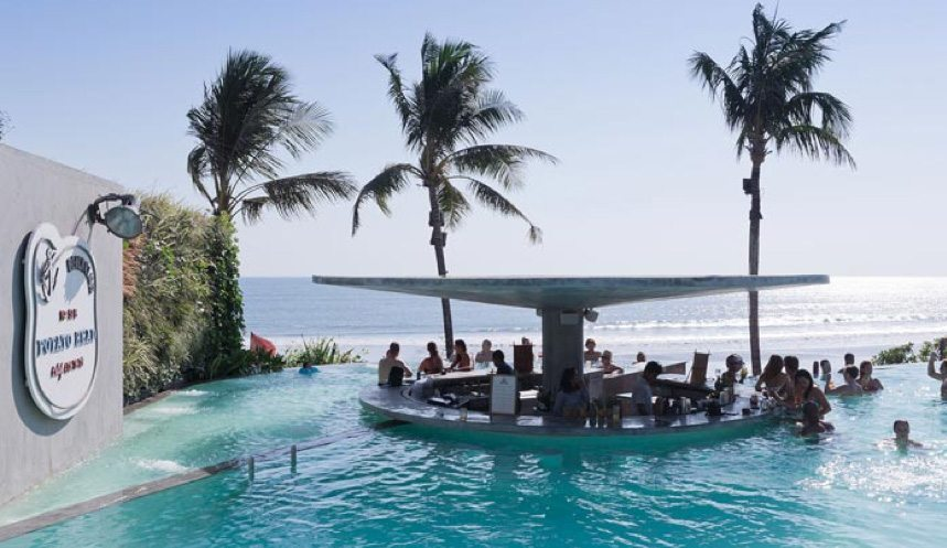 Potato Head Beach Club - the cool, hip place to be in Seminyak