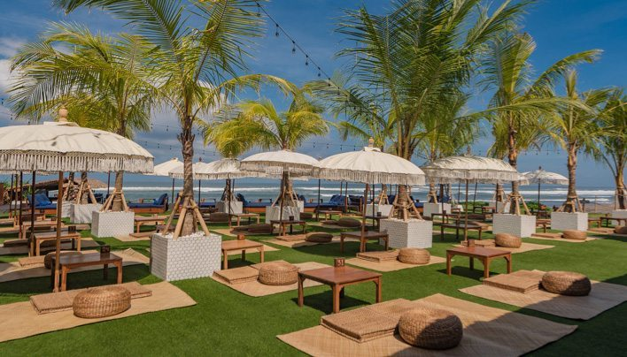 The Lawn Beach Club – Canggu - favourite spot for locals and expats