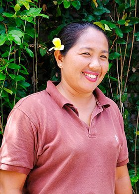 Our people - Seminyak Staff - Sri - Gardening