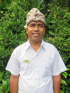 Our people - Canggu Staff - Wayan - Driver