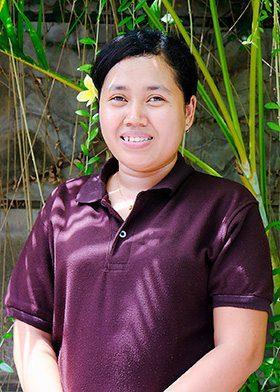 Our people - Seminyak Staff - Yuni - Gardening