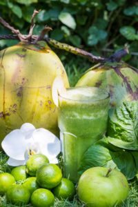 Fruit cocktail - Amazing fresh food, juices and smoothies are unlimited at Bliss Wellbeing Retreat