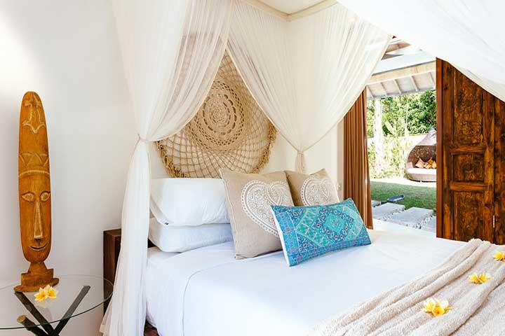 Beautiful bedroom, Bali retreat, Bliss Sanctuary For Women, Seminyak Sanctuary