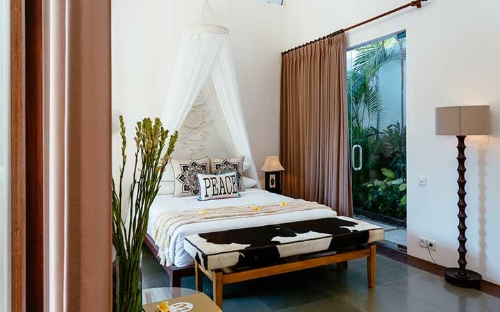 Beautiful Twin bedroom, Bali retreat, Bliss Sanctuary For Women, Seminyak Sanctuary