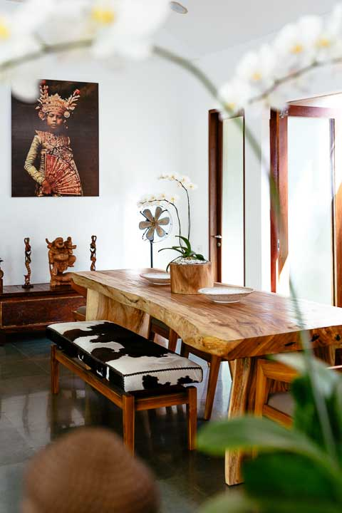 Seminyak Sanctuary, Bali retreat, Bliss Sanctuary For Women, gorgeous dining area
