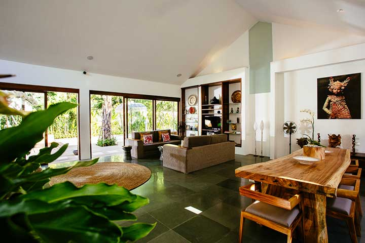 Relax in lovely living areas,  Seminyak Bali, Bliss Sanctuary For Women