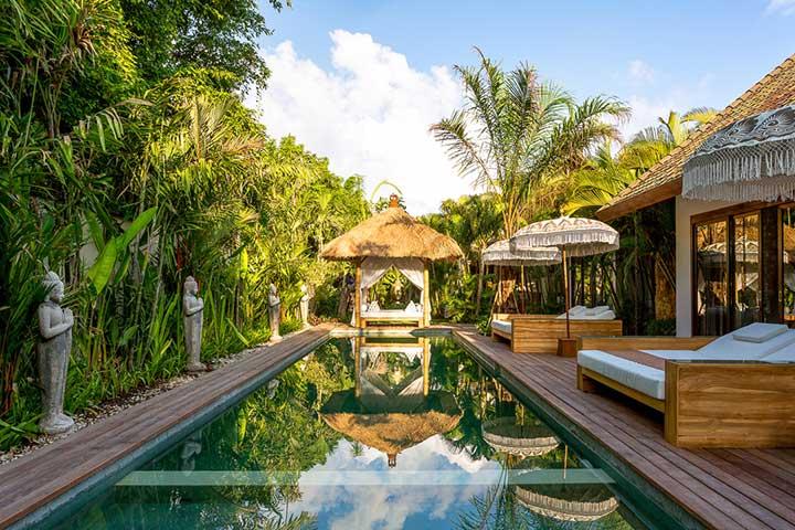 Bali retreats, Bliss Sanctuary For Women, Seminyak Sanctuary, beautiful pool
