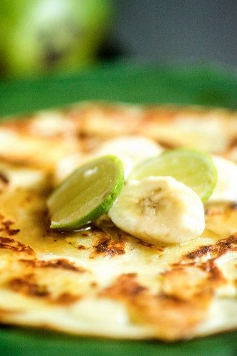 Banana Pancakes - food is plentiful and delicious at Bliss Spa Retreat