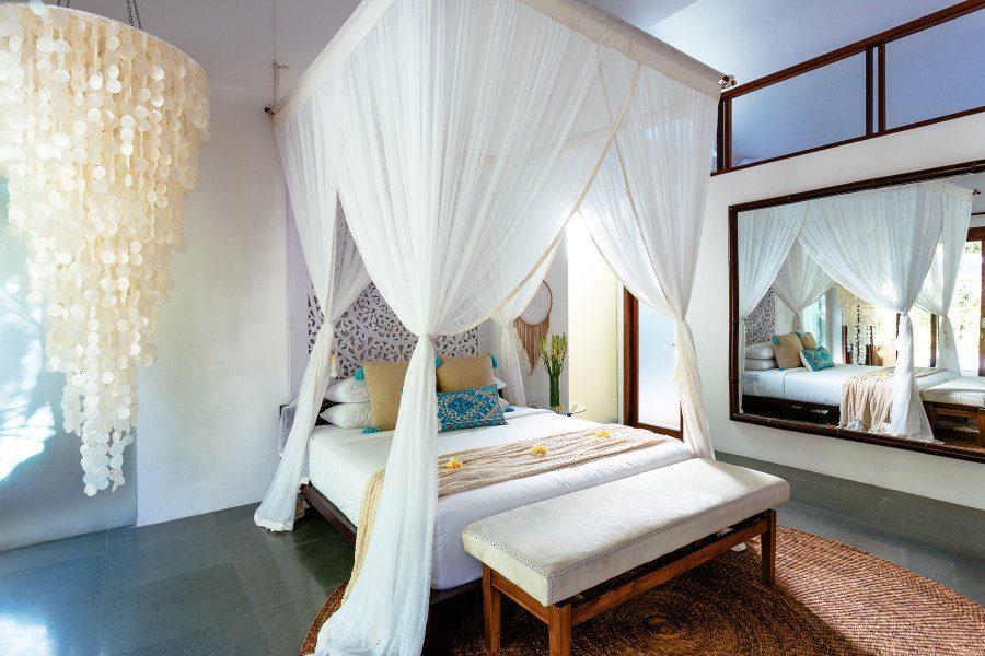 Beautiful King bedroom with loft, Bali retreat, Bliss Sanctuary For Women, Seminyak Sanctuary