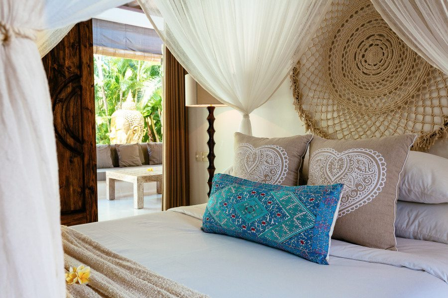 Beautiful Garden Retreat bedroom at Bali retreat, Bliss Sanctuary For Women, Seminyak
