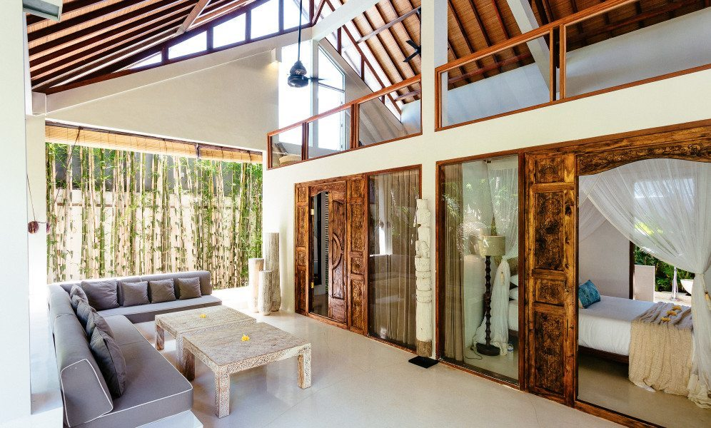 Lovely living area to relax in, at Bliss wellbeing retreat, Seminyak Bali, Bliss Sanctuary For Women