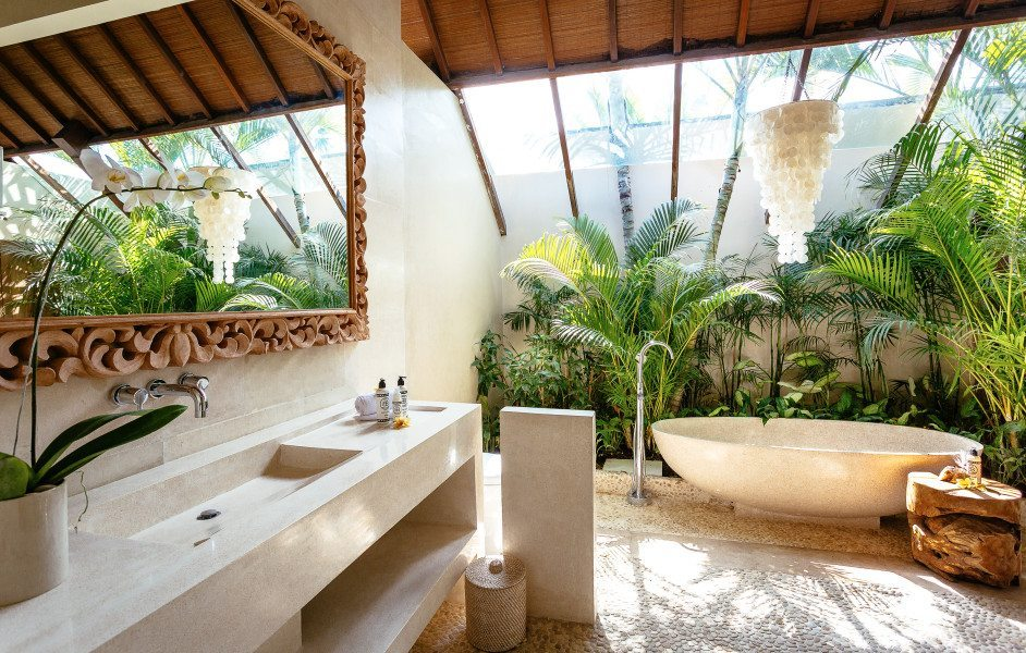 Seminyak Wellness Retreat Accommodation Bathroom Luxury Wellness and Spa