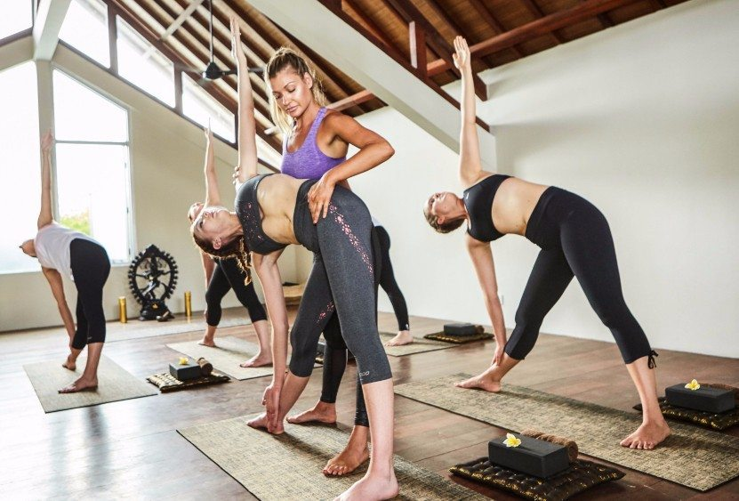 Ultra Fitness & Detox Retreat Package yoga at Bliss Sanctuary private yoga space