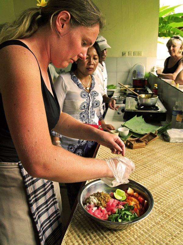 fab Foodie Package Bliss sanctuary - Cooking classes - With our first choice cooking school, classes provide a fascinating insight into Balinese life, beliefs and culture through learning about its food, cooking and culinary myths.