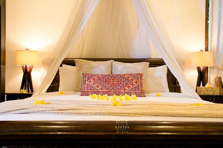 Beautiful private double room with mosquito net at our beautiful Bliss Sanctuary Canggu