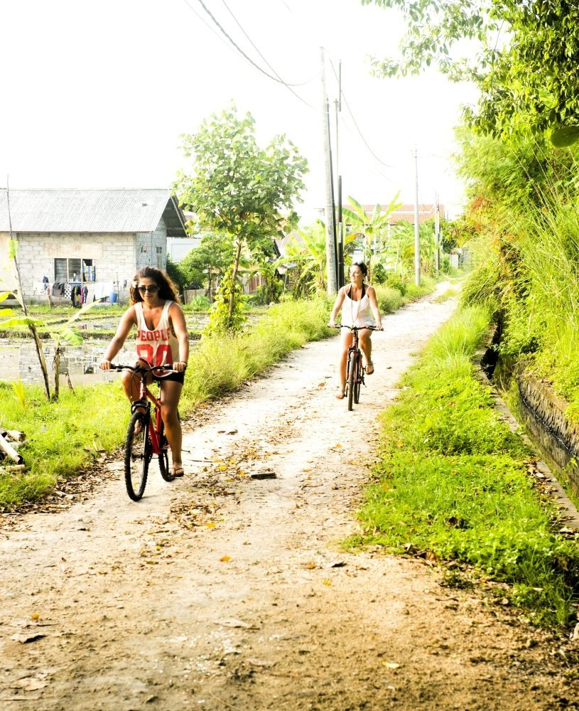 cycling tour ubud in bali fitness retreat bali