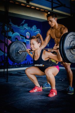 Women working out with personal trainer with the Bliss Active Package or Crossfit Bliss Package