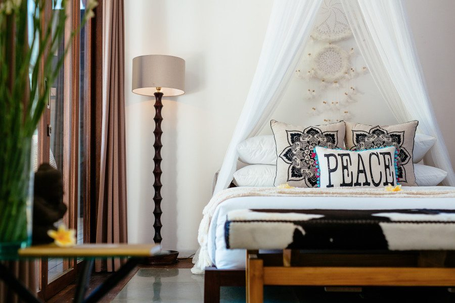 Bliss Sanctuary for Women Seminyak Villa Twin room