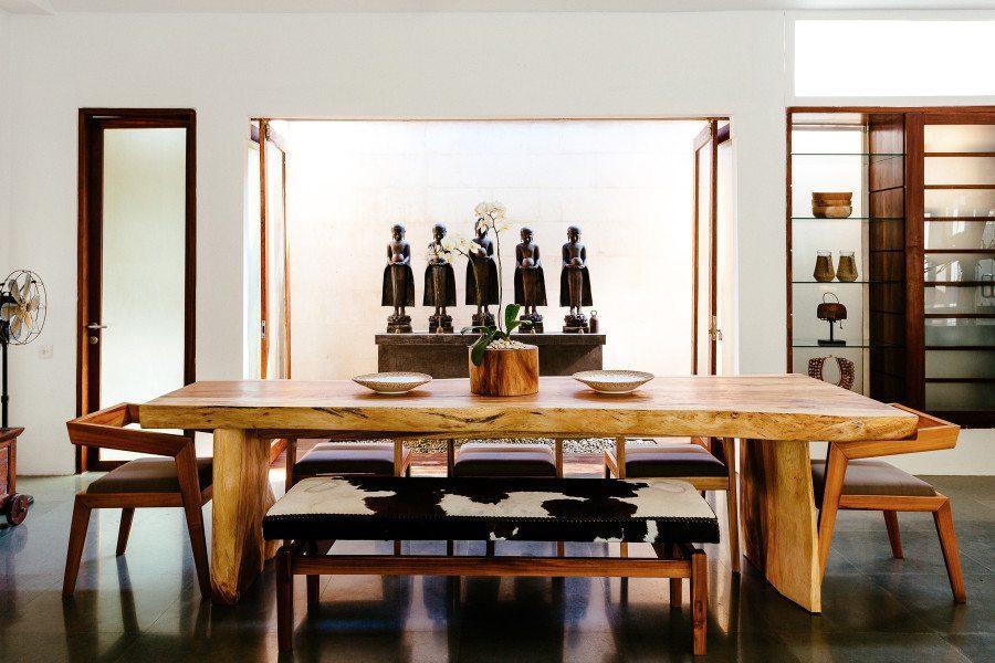 Bliss Sanctuary for Women Seminyak Villa dining area