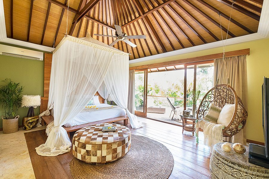 Bali retreats, Bliss Sanctuary For Women, New Canggu Sanctuary, beautiful bedroom