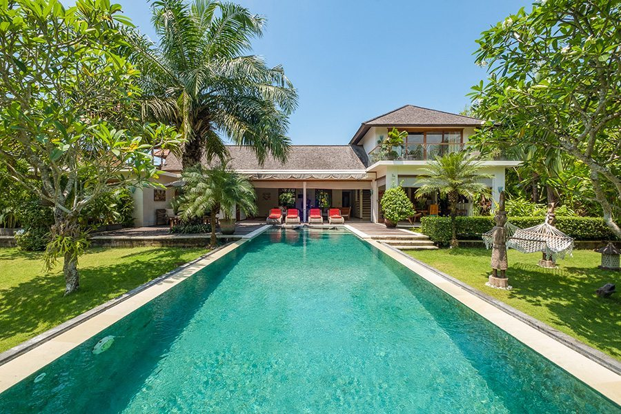 Bali retreats, Bliss Sanctuary For Women, New Canggu Sanctuary, beautiful pool