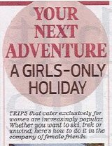 Daily Mail: Your Next Adventure - A girls only holiday