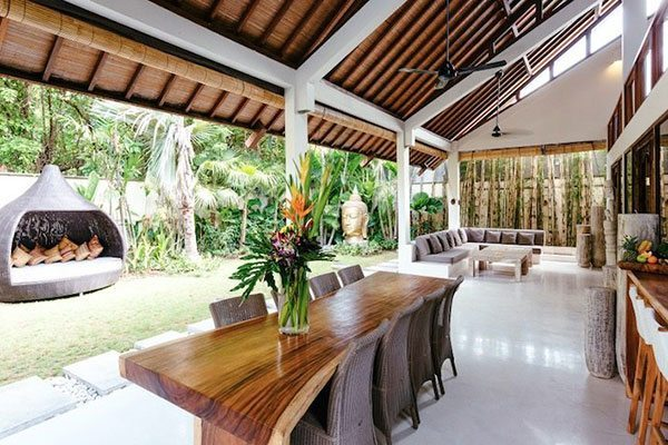 Seminyak Health and Wellness Retreat Accommodation living area