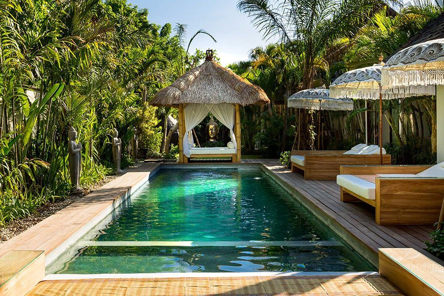 Seminyak Health and Wellness Retreat Outdoor Pool Area