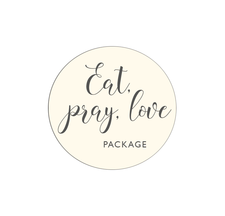 Eat, Pray, Love Package