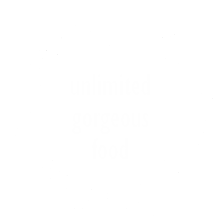 unlimited grgeous food at our bali retreat mandala