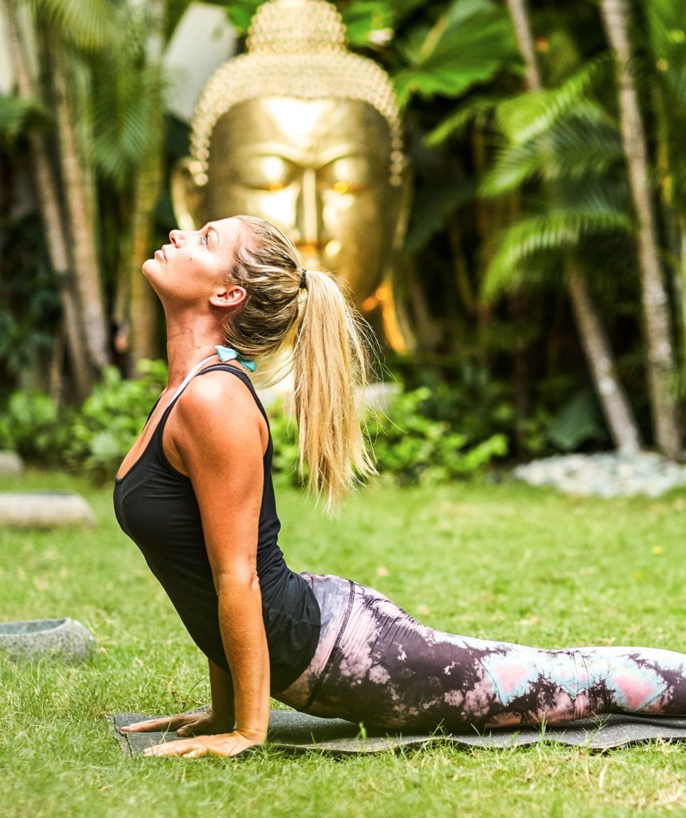 Unlimited yoga at our Bali Yoga Retreat for Women