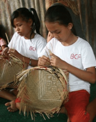 Learning useful skills through Bali Children's Foundation