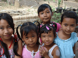 Happy children thanks to Bali Children's Foundation
