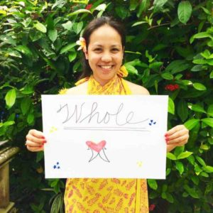 Bliss n tell  - Real people - Feel whole - at Bliss Sanctuary for Women - Yoga Retreat Bali