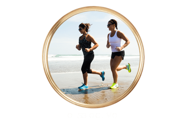guests running on beach - Bliss active retreat package
