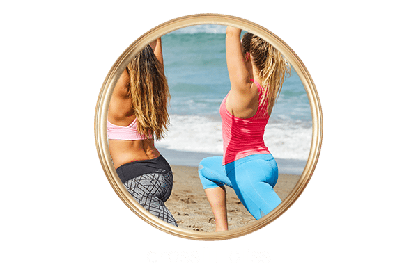 Women doing Cross-Fit at Bali Beach Cross Fit Package