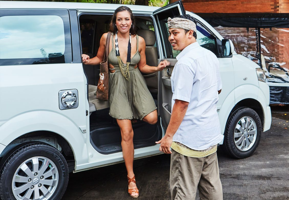 Personal Drivers so you always feel safe at our Bali Retreat for Women