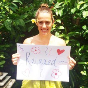 Bliss n tell  - Real people - Feel relaxed - at Bliss Sanctuary for Women in Bali