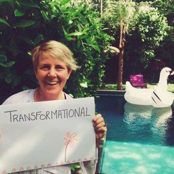 Bliss n tell  - Real people - Feel transformational - at Bliss Sanctuary for Women in Bali