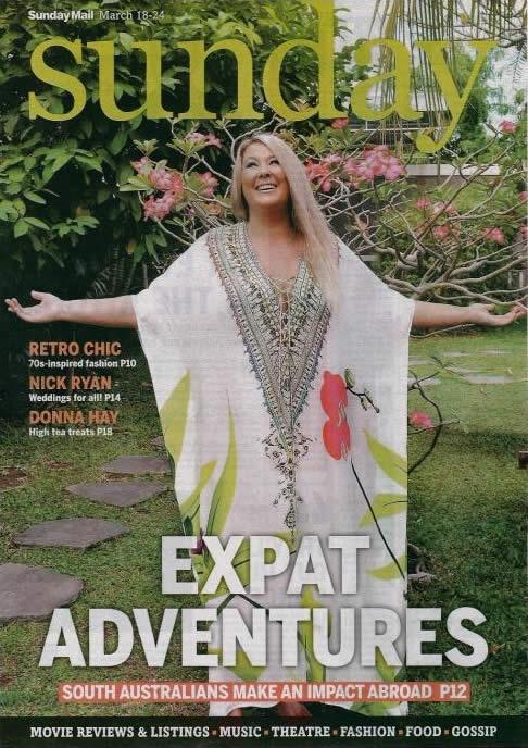 Sunday Mail - Expat Adventures - Zoe Watson